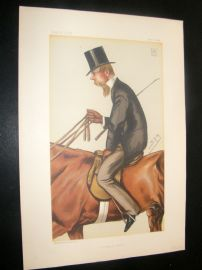 Vanity Fair Print 1882 Lord Foley, Sport Rider